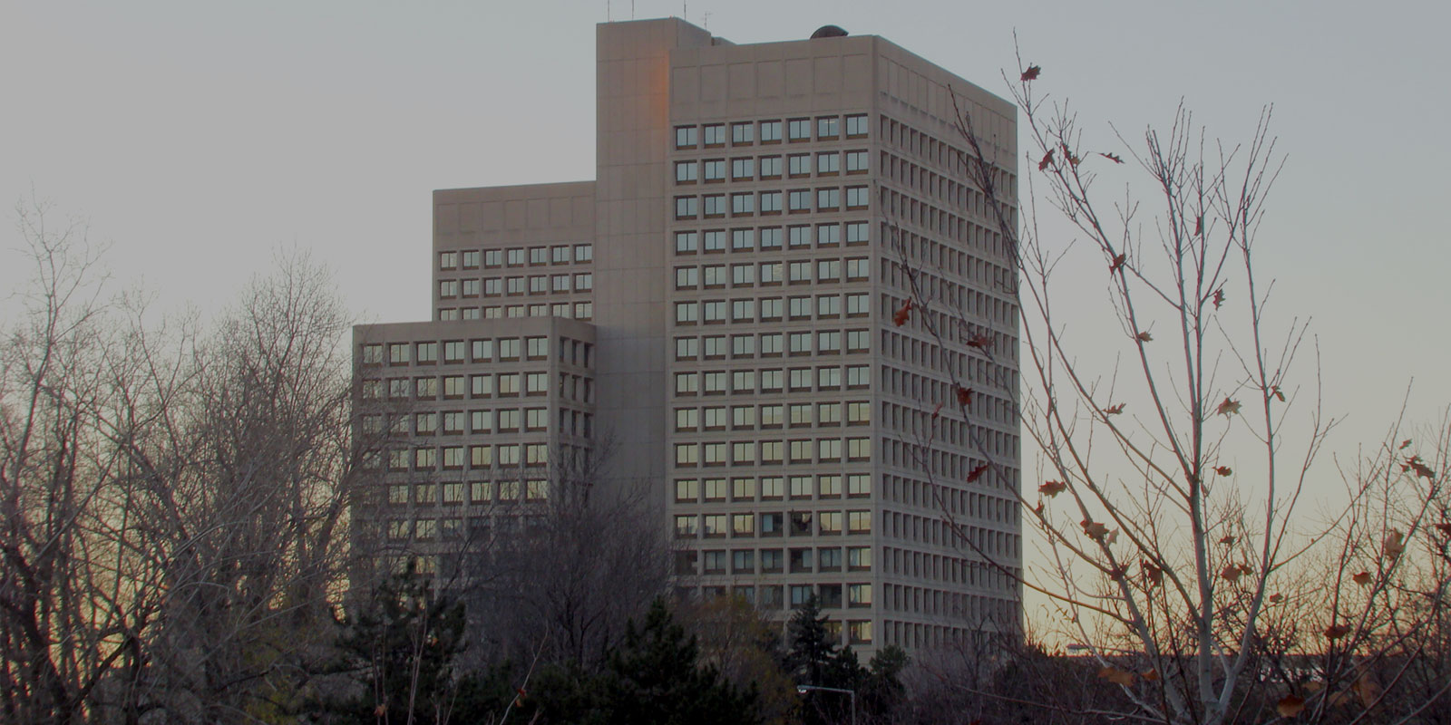 Department of National Defence building in Ottawa